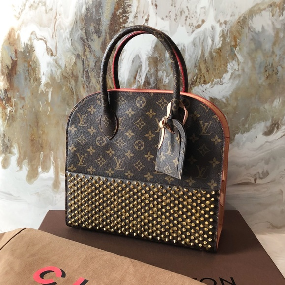Louis Vuitton Christian Louboutin Iconoclasts Bag